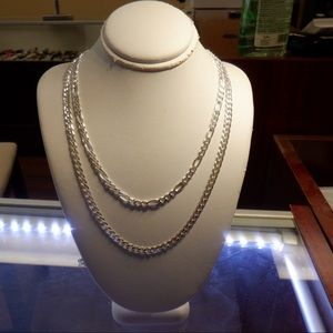 Solid 925 Cuban 20' Sterling silver Brand NEW!!